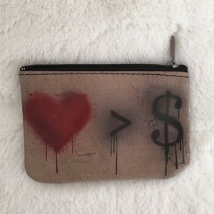 Leather Coin Pouch ❤️>💰